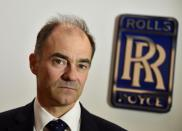 Warren East, CEO of Rolls-Royce, poses for a portrait at the company aerospace engineering and development site in Bristol in Britain