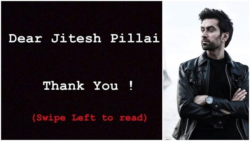 Ishqbaaaz Star Nakuul Mehta Thanks Journalist Jitesh Pillai for Shaking the Collective Conscience of the Entertainment World