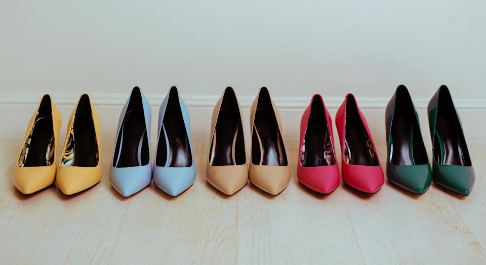 Demand for high heels has plummeted amid the pandemic. (Getty Images)