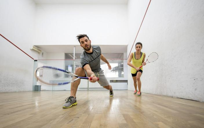Racket sports in your 30s... - E+/BraunS