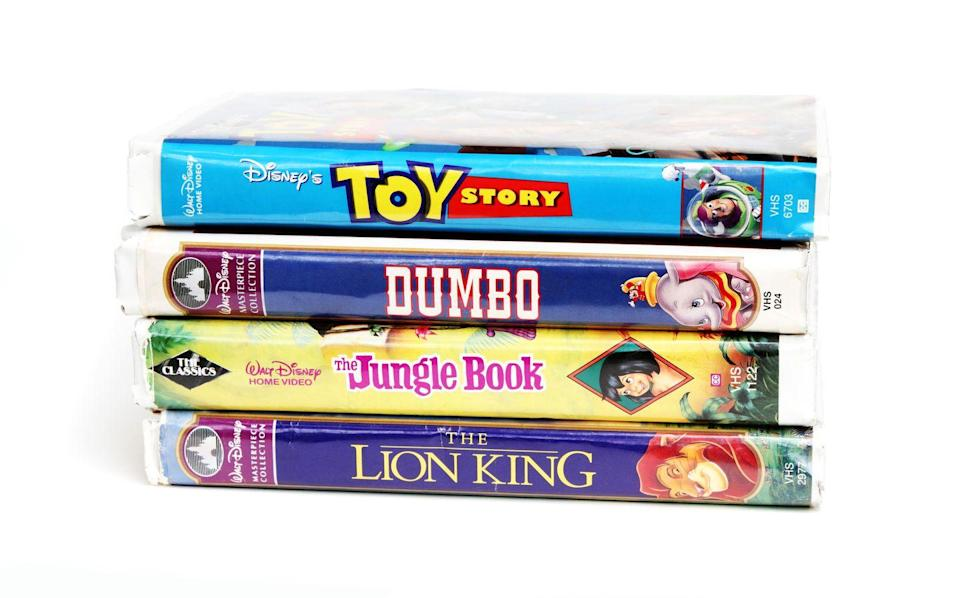 <p>The VCR days are long behind us, but you may want to hunt down those old VHS tapes. Unpopular movies that never made the leap to DVD or digital are the ones to look out for (especially in the horror genre). Movies that have been banned or deemed controversial (like Disney's <em>Song of the South</em>) also go for a high price.</p><p><strong>What it's worth: </strong>Up to $50,000<br></p>