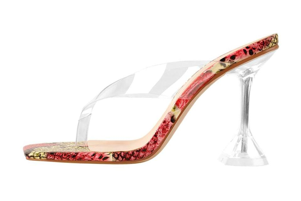 only maker, extended size shoes, snakeskin heels