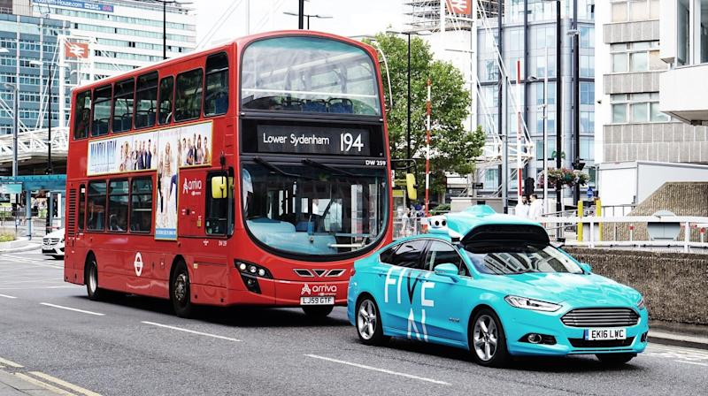 Driverless cars to carry commuters in London for the first time