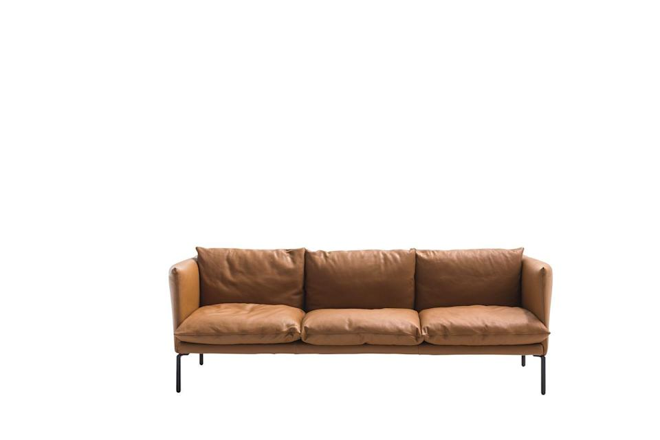 "<p>Are you someone who likes to sit up straight? This sofa by Patricia Urquiola is designed to be comfortable for sitting properly, but equally as cosy if you love to lounge. £4,312, <a href=""https://moroso.it/prodotti/gentry-sofa/?lang=en"" rel=""nofollow noopener"" target=""_blank"" data-ylk=""slk:moroso.it"" class=""link rapid-noclick-resp"">moroso.it </a></p>"