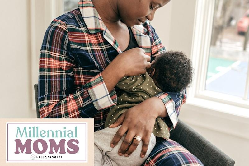 I loved the idea of breastfeeding. The reality stressed me out