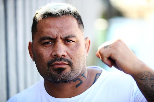 Mark Hunt was to face Marcin Tybura on Nov. 19, but the UFC has pulled him from the event. (Getty)