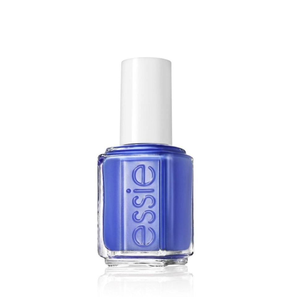 """Butler Please is an old favorite that I recently got back into. This polish really pops against tan or dark skin—but it's so pretty on fair skin too. There's something about wearing a vibrant electric blue on hotter-than-hot summer days that just feels <em>cool</em>. <em>—Shanna Shipin, commerce editor</em> $9, Essie. <a href=""""https://shop-links.co/1712536491449655423"""" rel=""""nofollow noopener"""" target=""""_blank"""" data-ylk=""""slk:Get it now!"""" class=""""link rapid-noclick-resp"""">Get it now!</a>"""