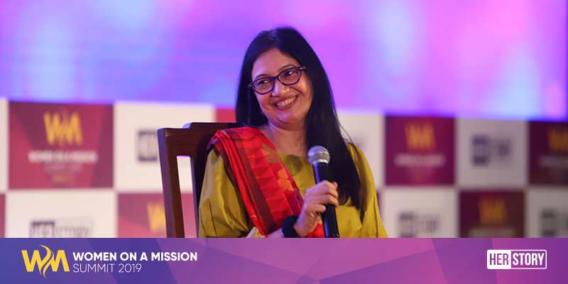 Nivruti Rai, Country Head - Intel (India) at YourStory's event