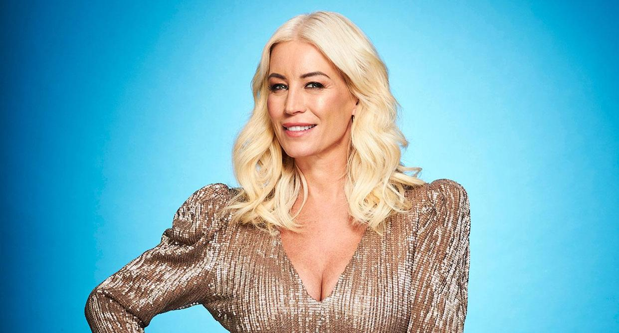Denise Van Outen is still recovering from her Dancing on Ice injury. (ITV)