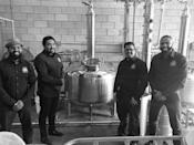 """<p><strong>Baltimore, Maryland</strong></p> <p>Partners Rodney Dotson, William Jennings the Third, Reggie Jones, and Jonathan Ortiz are creating a buzz with their sweet, smooth, corn whiskey at <a href=""""https://ramsandparrots.com/"""" rel=""""nofollow noopener"""" target=""""_blank"""" data-ylk=""""slk:Rams and Parrots"""" class=""""link rapid-noclick-resp"""">Rams and Parrots</a>. The excitement was so great that the brand sold out the first day it was released to a local liquor store in 2019. Luckily, they're always aging more, so you can get a chance to sample it yourself.</p>"""
