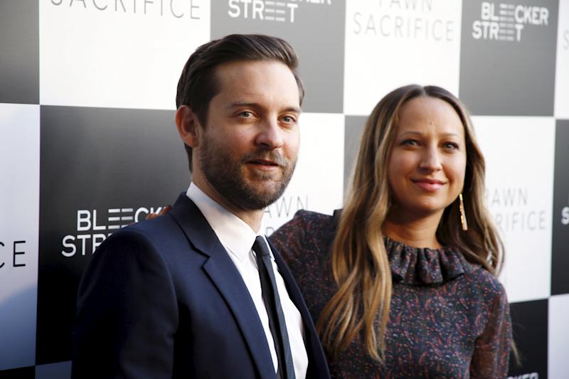 Jennifer Meyer and Tobey Maguire first met in 2003. They have been separated since 2016. (REUTERS by Danny Moloshok)
