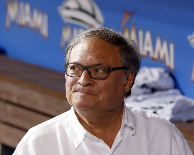 Jeffrey Loria is still finding ways to crap on Miami even after selling the Marlins. (AP Photo)