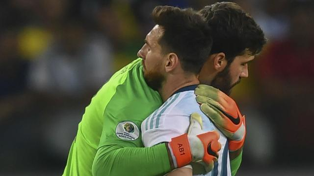 The goalkeeper has said that playing against the Ballon d'Or winner has enhanced his play