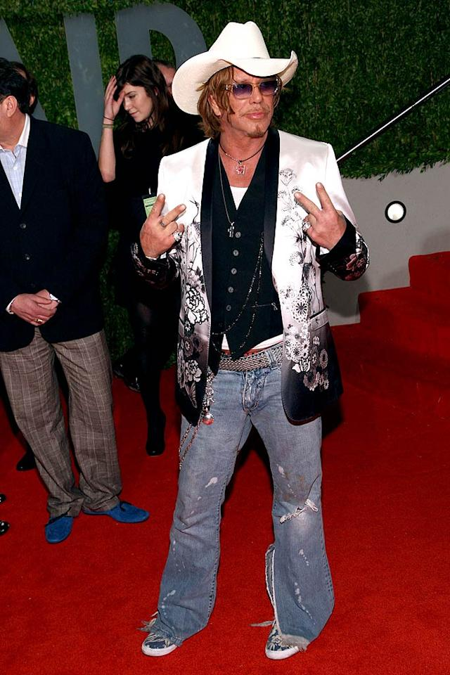 """February: Mickey Rourke   Oh Mickey, you're so not fine. You're so not fine, you blow my mind. Hey Mickey! Alberto E. Rodriguez/<a href=""""http://www.gettyimages.com/"""" target=""""new"""">GettyImages.com</a> - February 22, 2009"""