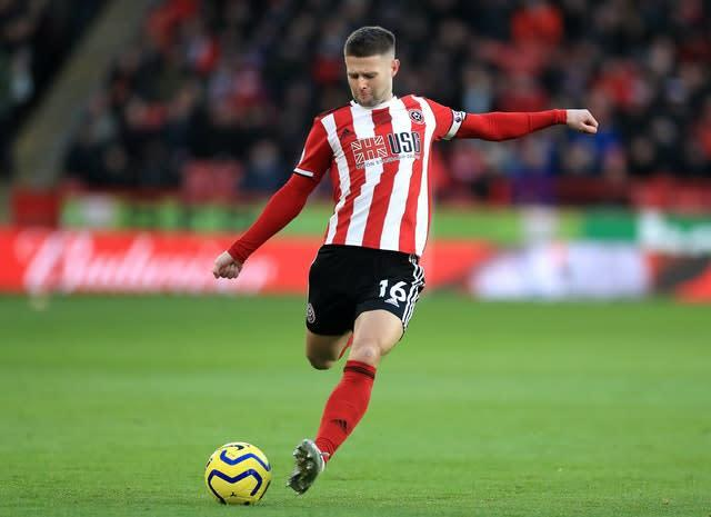 Oliver Norwood will be staying at Bramall Lane (Mike Egerton/PA)