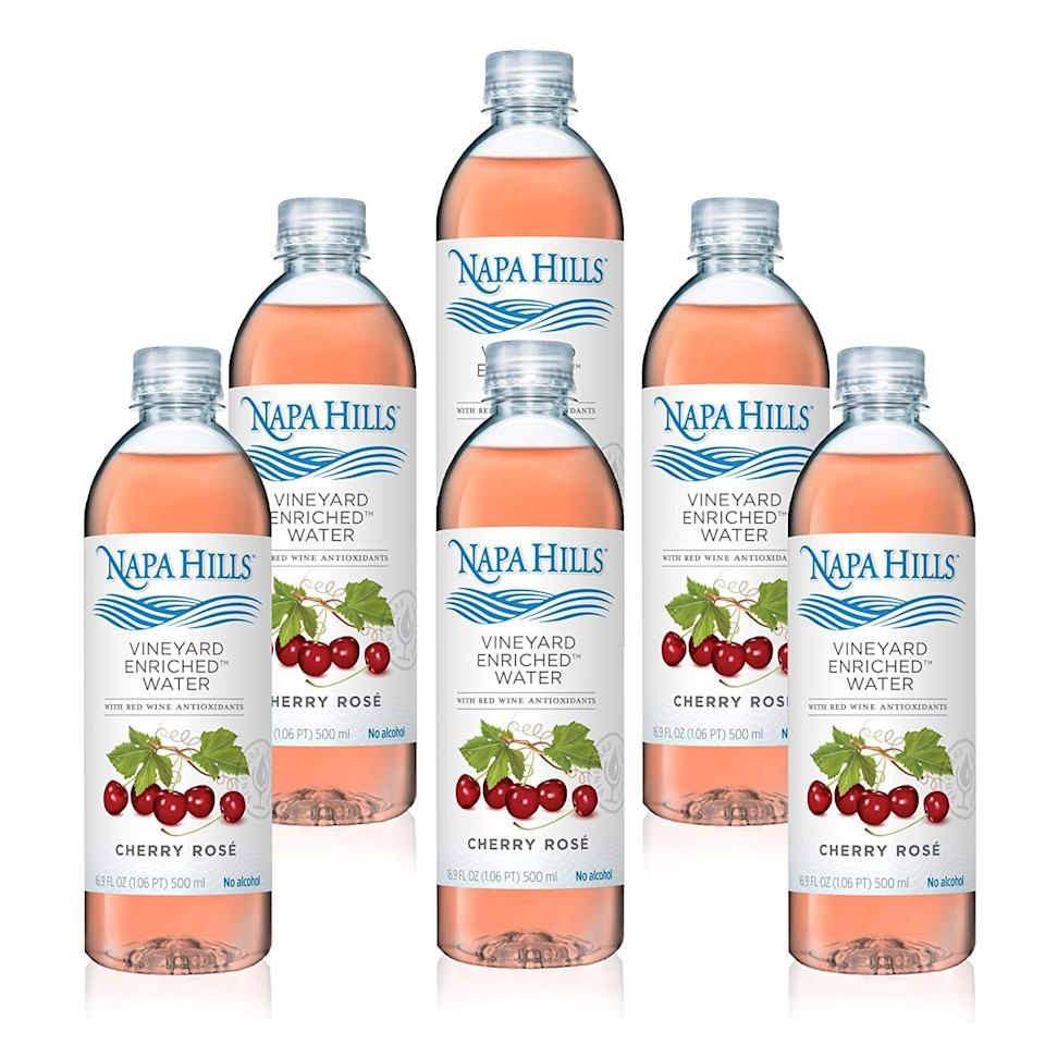"<p>Does she miss her wine? Napa Hills mixes purified water with a proprietary blend of the same antioxidants naturally found in red wine, but without the alcohol. <a href=""https://www.popsugar.com/buy/Napa-Hills-Cherry-Ros%C3%A9-Flavor-358911?p_name=Napa%20Hills%20Cherry%20Ros%C3%A9%20Flavor&retailer=amazon.com&pid=358911&price=30&evar1=moms%3Aus&evar9=25779805&evar98=https%3A%2F%2Fwww.popsugar.com%2Fphoto-gallery%2F25779805%2Fimage%2F45262304%2FNapa-Hills-Flavored-Water-Cherry-Ros%C3%A9&list1=shopping%2Calcohol%2Cgift%20guide%2Cnon-alcoholic%2Cpregnancy%2Cmom%20shopping%2Cgifts%20for%20women&prop13=api&pdata=1"" rel=""nofollow"" data-shoppable-link=""1"" target=""_blank"" class=""ga-track"" data-ga-category=""Related"" data-ga-label=""https://www.amazon.com/Napa-Hills-Flavored-Antioxidants-Polyphenol/dp/B07DYZKVRY/ref=sr_1_2_s_it?s=grocery&amp;ie=UTF8&amp;qid=1529989494&amp;sr=1-2&amp;keywords=napa%2Bhills&amp;th=1"" data-ga-action=""In-Line Links"">Napa Hills Cherry Rosé Flavor</a> ($30 for 6 bottles) is a great sip. Chill before serving!</p>"