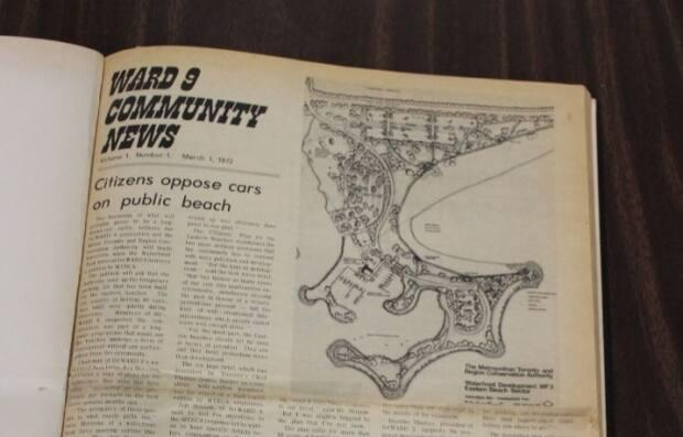 An image of the first paper published March 1, 1972. (Submitted/Beach Metro Community News - image credit)
