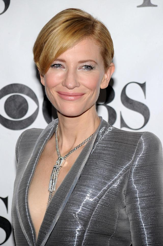 <p>Cate Blanchett attends the 64th Tony Awards at Radio City Music Hall on June 13, 2010, in New York City. (Photo: Getty Images) </p>