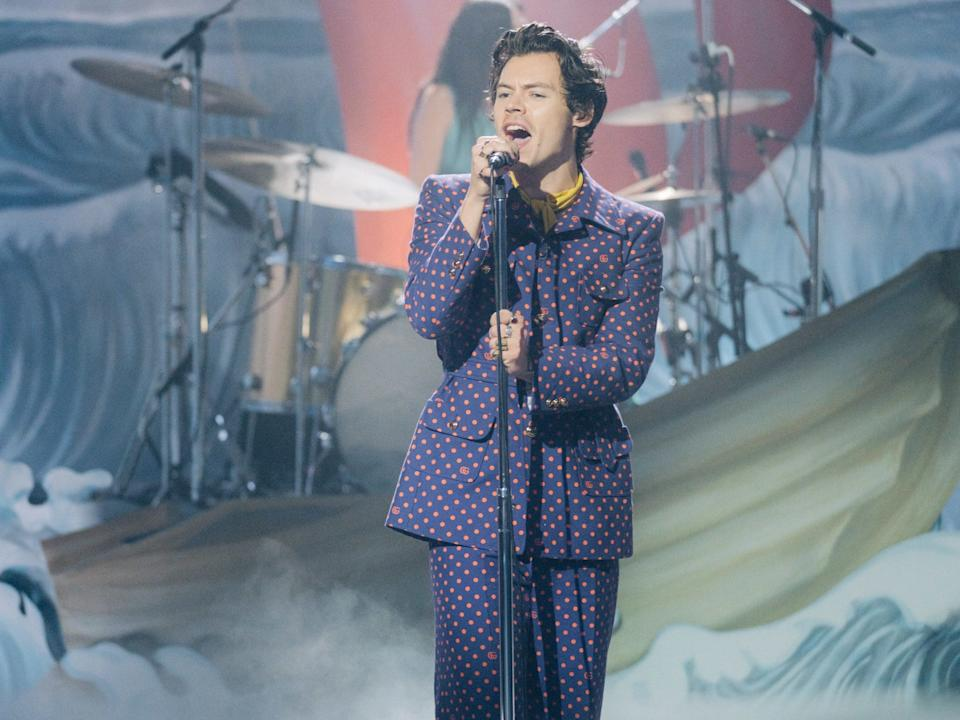 harry styles late late show
