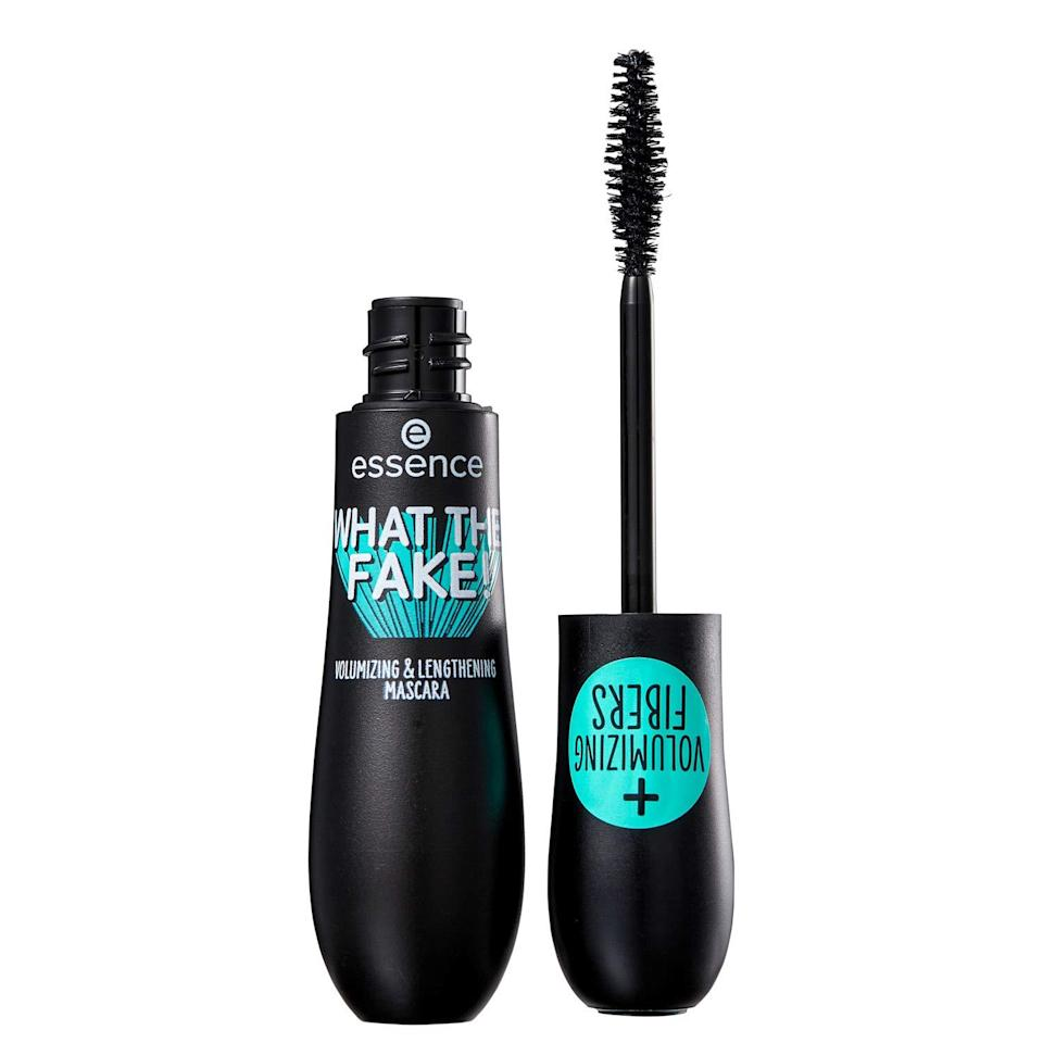 """<p>You can always rely on Essence to give you a false-lash look without actually having to apply false lashes. With the cheekily named What The Fake Mascara, it achieves its drama with volumizing nylon fibers, and it does so for only about five bucks. </p> <p><strong>$5</strong> (<a href=""""https://shop-links.co/1705585989829347391"""" rel=""""nofollow noopener"""" target=""""_blank"""" data-ylk=""""slk:Shop Now"""" class=""""link rapid-noclick-resp"""">Shop Now</a>)</p>"""