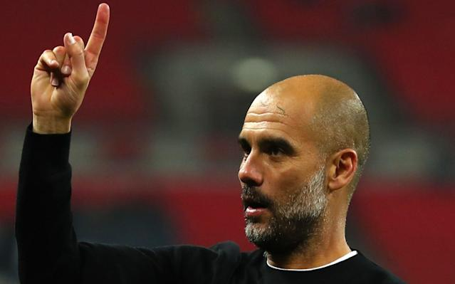"""Pep Guardiola can finally celebrate Manchester City's title victory today, one week after it was confirmed, although he believes it will take more such successes before the club can challenge for Europe's biggest prize. City were knocked out of the Champions League 5-1 by Liverpool in the quarter-finals and Guardiola insists that Europe's ultimate club honour is not their priority. Instead, he says he would settle for """"only"""" the Premier League again next season as he believes City lack the """"respect"""" and status to win in Europe. """"I realise this season how difficult it will be to win the Champions League,"""" said Guardiola ahead of today's meeting with Swansea. """"Maybe I am wrong but before you win the Champions League you have to win more Premier Leagues in a row, to get respect in Europe that you are a top club. Guardiola has warned his squad against complacency despite their emphatic title win Credit: AP """"Of course we are going to try but I don't know if we are like a club to have the power on and off the pitch to achieve and to get there. So I would prefer, like this season, to be solid in the Premier League. """"The Premier League is the priority next season, absolutely. The Premier League is the most important title."""" Guardiola declined to expand upon precisely how a lack of respect cost his club in Europe although the City manager was vocal about what he believed were poor refereeing decisions in the defeats against Liverpool. However, the Catalan insisted he was under no pressure from City's owners to deliver on the European stage. """"When I came here, the chairman never said 'you have to win the Champions League' or 'you have to win the Premier League',"""" said Guardiola. Manchester City player ratings for Premier League title winning season """"They said to do what you believe to do and try to be constant for as long as possible. We did it for one season but I think to be a solid team, and Europe can start watching what we have done, it is not just one season. """"But what """