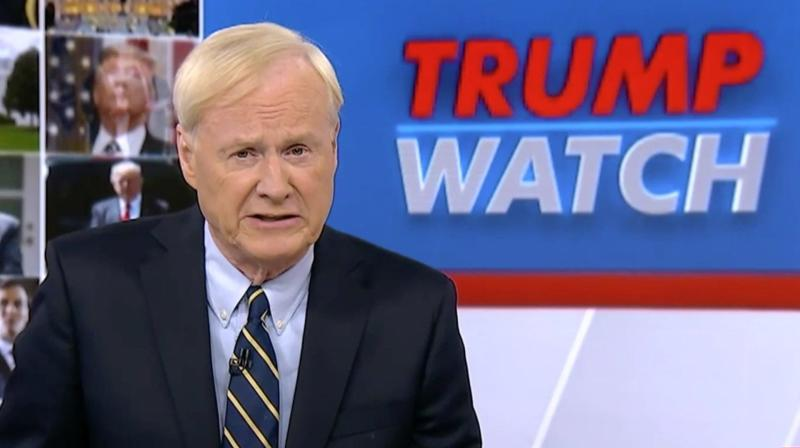 Chris Matthews Lists 18 Other Ways To Call Donald Trump A Moron