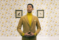 <p>The stylish Emile shot for Paypal looking suitably aloof and hoity in a set with just a little nod towards Wes Anderson. (Nick Dolding, United Kingdom, Winner, Open Portraiture and Winner, United Kingdom National Award, 2018 Sony World Photography Awards) </p>