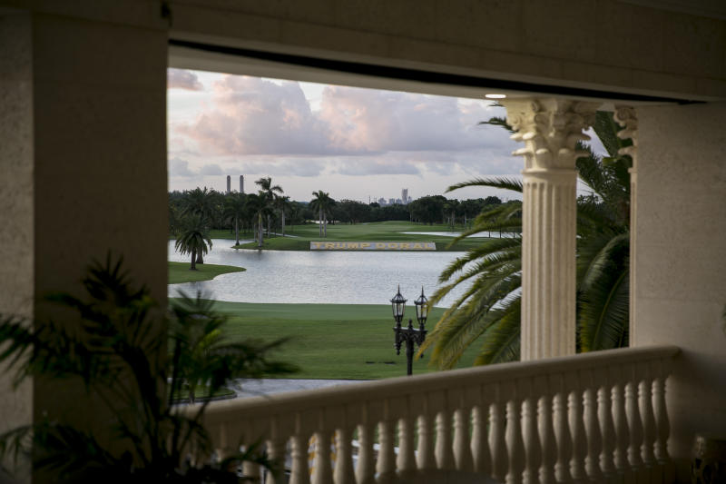 The Trump National Doral in Doral, Fla., Sept. 9, 2016. (Ilana Panich-Linsman/The New York Times)