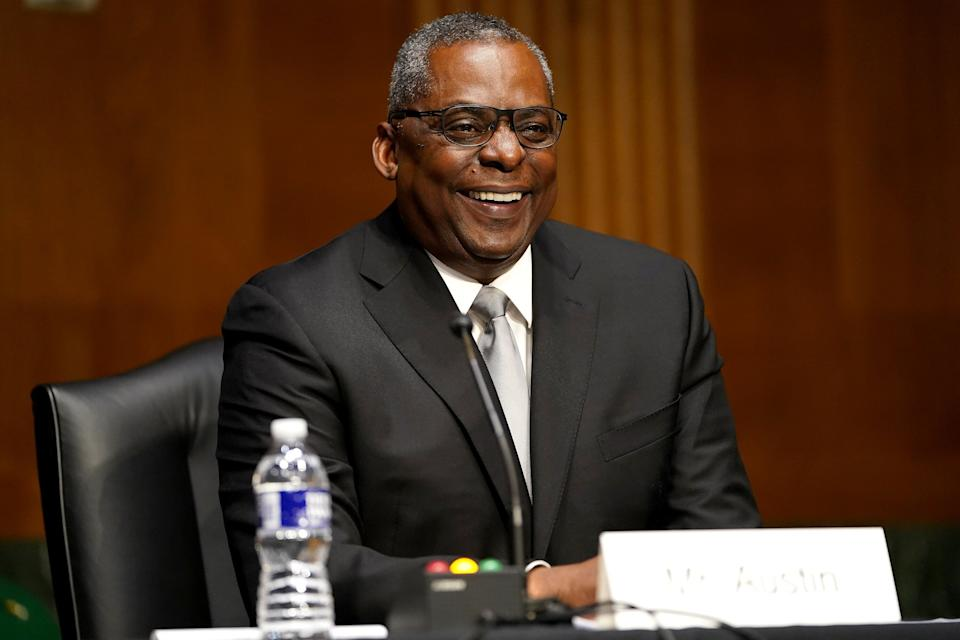 Lloyd Austin, President Joe Biden's pick for defense secretary, testified before the Senate Armed Services Committee on Tuesday, Jan. 19. (Photo: POOL New / Reuters)