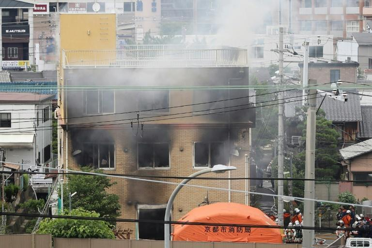 More than 30 people were injured in the attack on the anime studio that killed 36