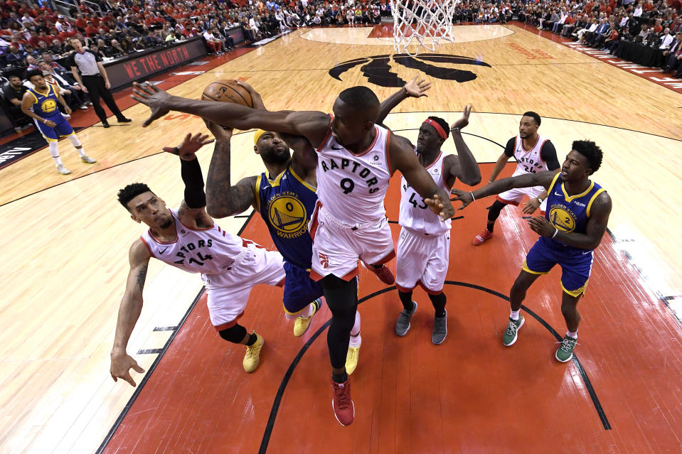 Game five of the 2019 NBA Finals at Scotiabank Arena. (Kyle Terada/USA TODAY Sports)