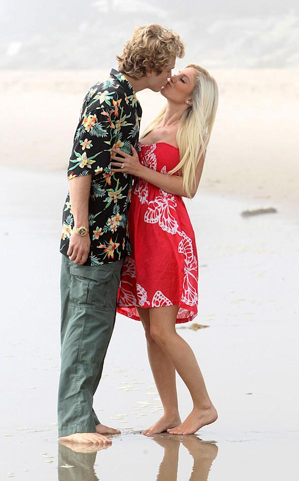 """The two claim they've reconciled after a traumatic day at a Costa Rica airport, where Spencer was detained for illegal arms possession. Although Heidi filed for divorce in July, we believe their """"split"""" was just another publicity stunt. James Breeden/<a href=""""http://www.pacificcoastnews.com/"""" target=""""new"""">PacificCoastNews.com</a> - September 22, 2010"""