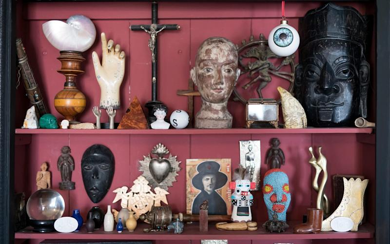 'I've been a bit busy on eBay in lockdown': Martin is a collector at home too - Christopher Pledger for DT