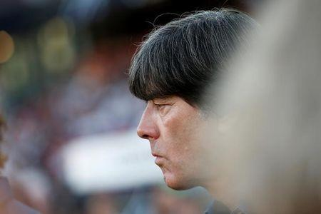 Football Soccer - Germany v San Marino - 2018 World Cup Qualifying European Zone - Group C - Stadium Nuernberg, Nuremberg - 10/06/17 - Germany's coach Joachim Loew before the match. Reuters/Michaela Rehle/Files