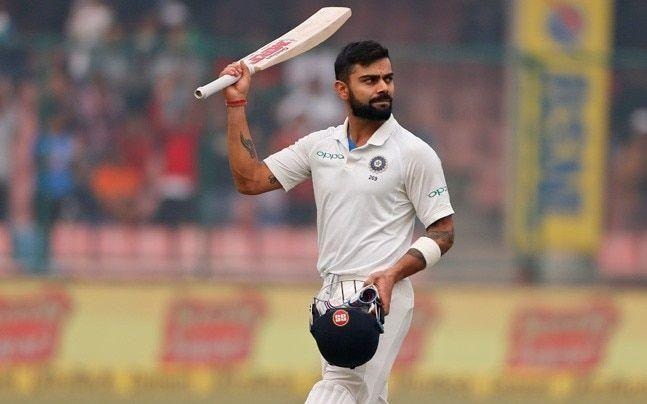 Kohli's highest score of 243 came at his home ground