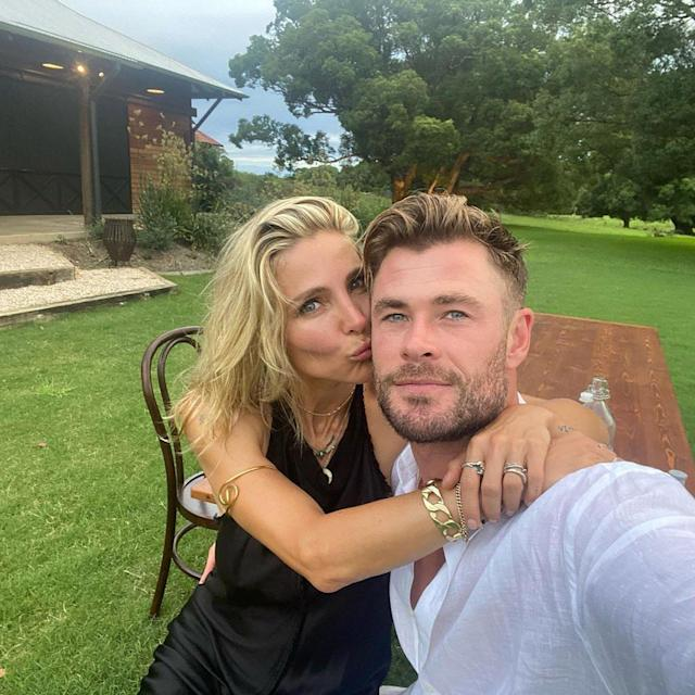 Has chris dated who hemsworth Who is