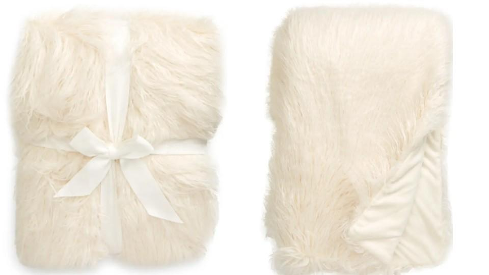 Nordstrom Mongolian Faux Fur Throw Blanket - Nordstrom, $59 (originally $99)
