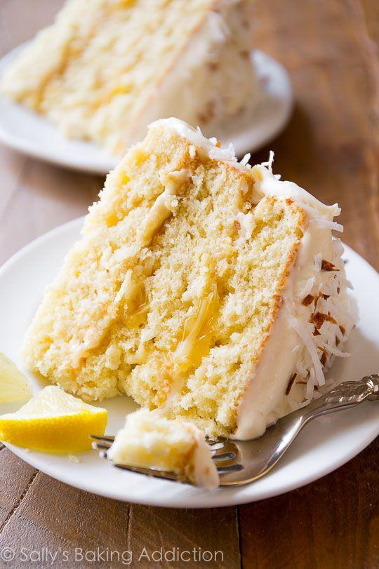 """<p>If Mom loves lemon and coconut, then this is the cake she needs to eat for her special day. </p><p><strong>Get the recipe at <a href=""""http://sallysbakingaddiction.com/2016/03/05/lemon-coconut-cake/"""" rel=""""nofollow noopener"""" target=""""_blank"""" data-ylk=""""slk:Sally's Baking Addiction"""" class=""""link rapid-noclick-resp"""">Sally's Baking Addiction</a>.</strong> </p>"""