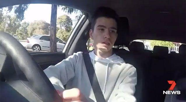 The boys required a total of 360 driving hours to pass their learner's test. Source: 7 News