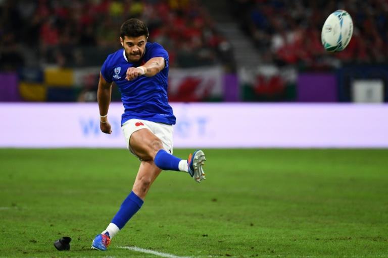 Romain Ntamack may have been unlucky to see a first-half conversion and penalty hit the post, but the two eminently kickable chances should not really have been anywhere near the woodwork (AFP Photo/GABRIEL BOUYS                     )