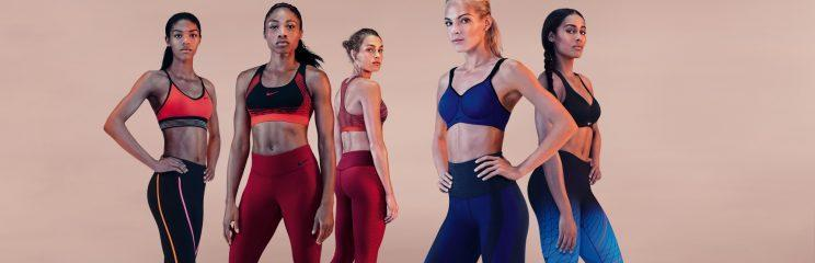 A look at Nike's Pro sports bra collection. (Photo: Nike)