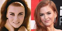 <p>It's normally Amy Adams that the public confuses Isla Fisher with, but looking back a few decades we can't stop seeing the likeness between Isla and <em>Bye Bye Birdie</em> actress Ann Margret.</p>