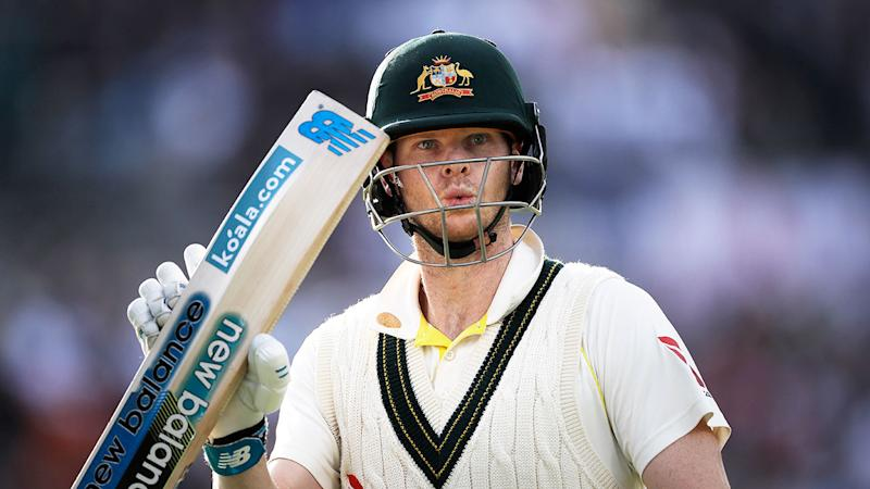Steve Smith once again top-scored for Australia.