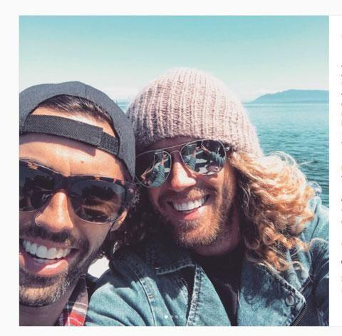 Tim Dormer is set to wed his partner Ash after Australia voted 'yes' for marriage equality. Source: Instagram