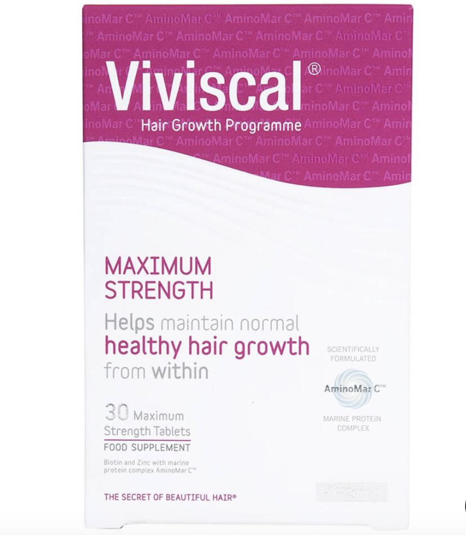 Viviscal maximum strength supplements (30 tablets), S$52.50. PHOTO: Lookfantastic