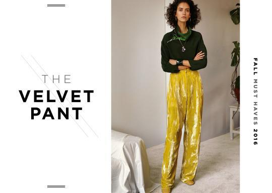 <p>Color and texture is what one needs to know about this fall—make sure its bright and make sure it is not just about cotton! Velvet and leather are going to dominate until winter so invest now. </p>