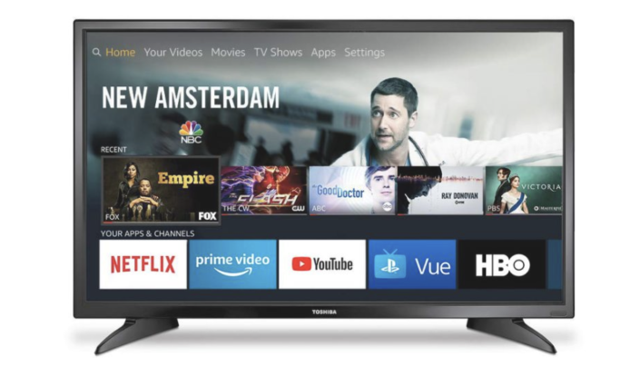 This 32-inch Toshiba TV is just $99 for Amazon Prime Day. (Photo: Amazon)
