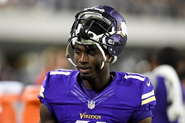 Rookie Laquon Treadwell hasn't seen much playing time this season. (Getty Images)