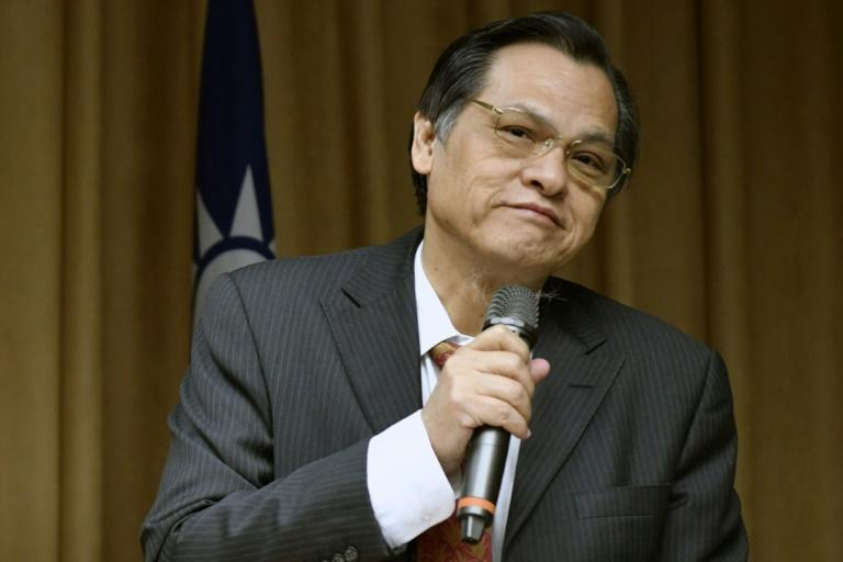 Chen Ming-tong, chairman of Taiwan's Mainland Affairs Council, has warned that China could use the new Hong Kong security law for 'hostage diplomacy' (AFP Photo/SAM YEH)