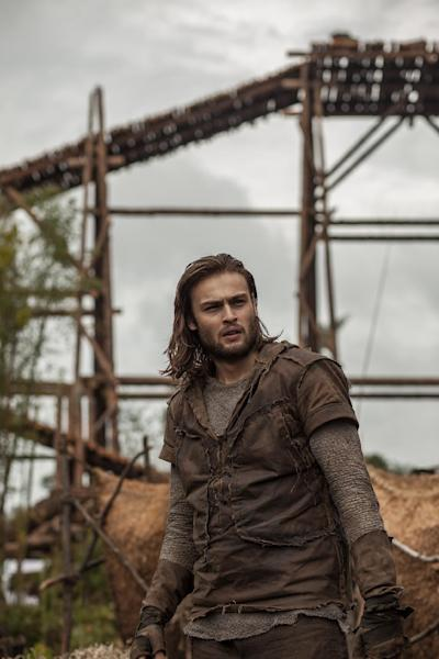 "This image released by Paramount Pictures shows Douglas Booth in a scene from ""Noah."" (AP Photo/Paramount Pictures, Niko Tavernise, file)"